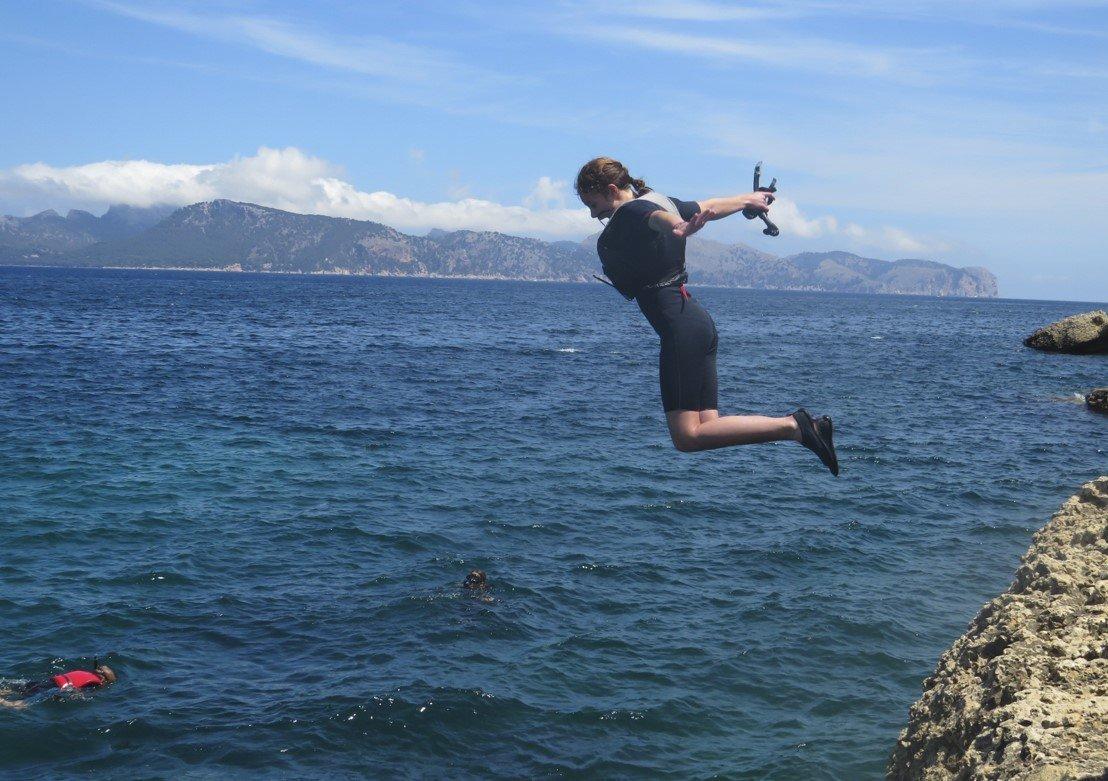 Moglichkeit von cliff springen