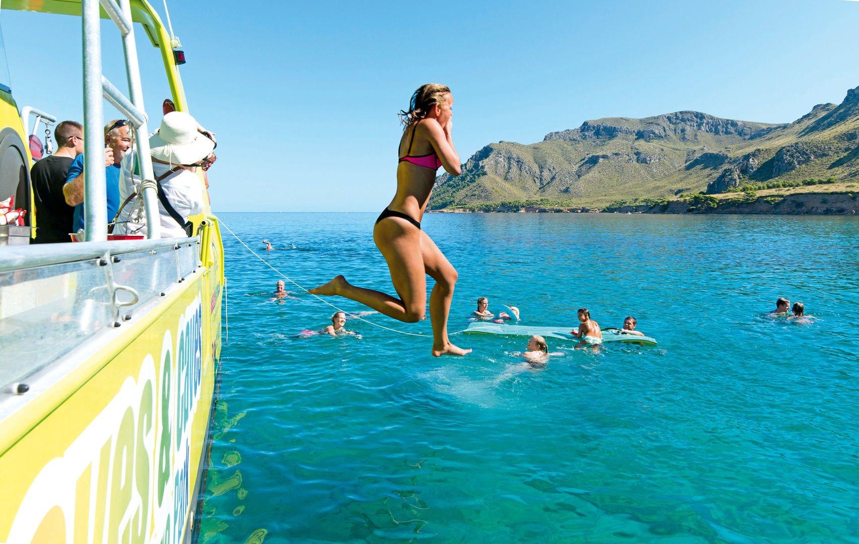 Geniessen Alcudia Schnorcheln Boot Trip