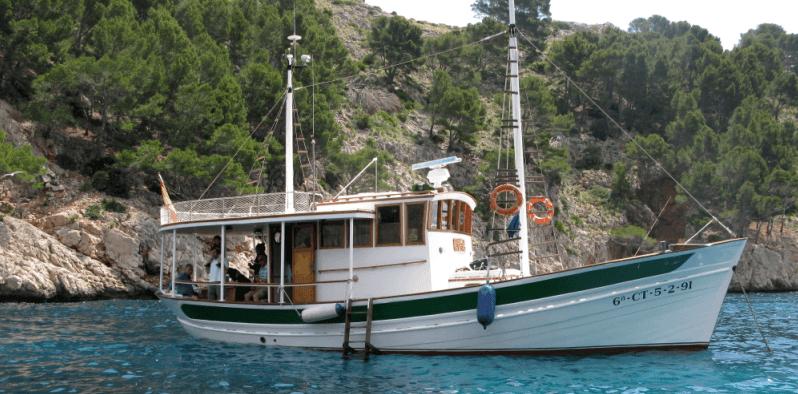 Boot in Pollensa Bucht