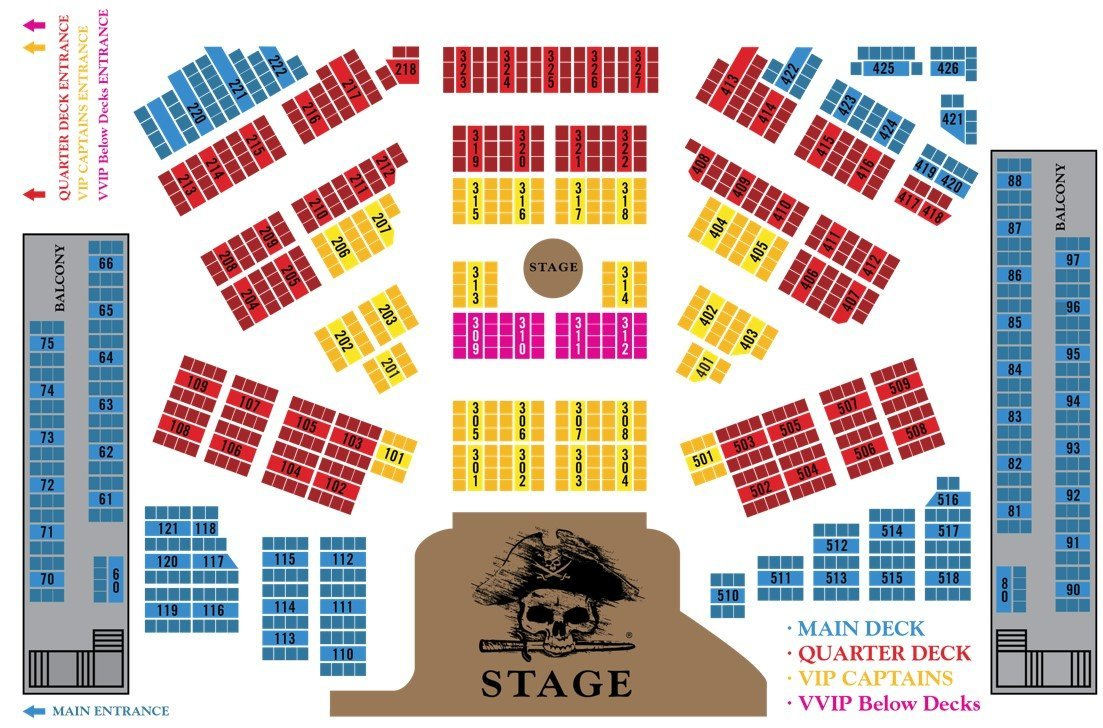 Show seating plan