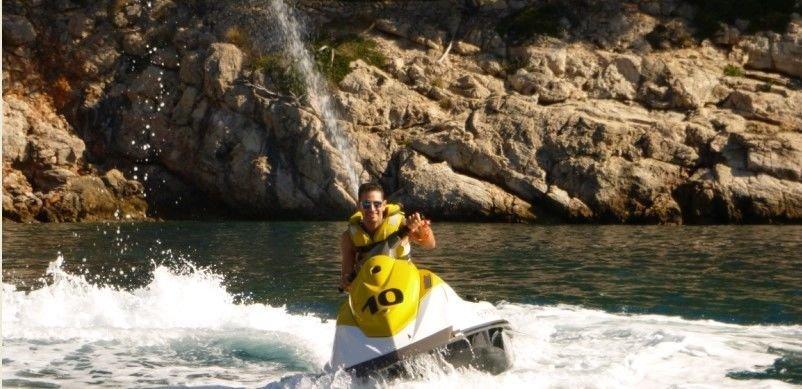 jet ski tour to alcudia beach