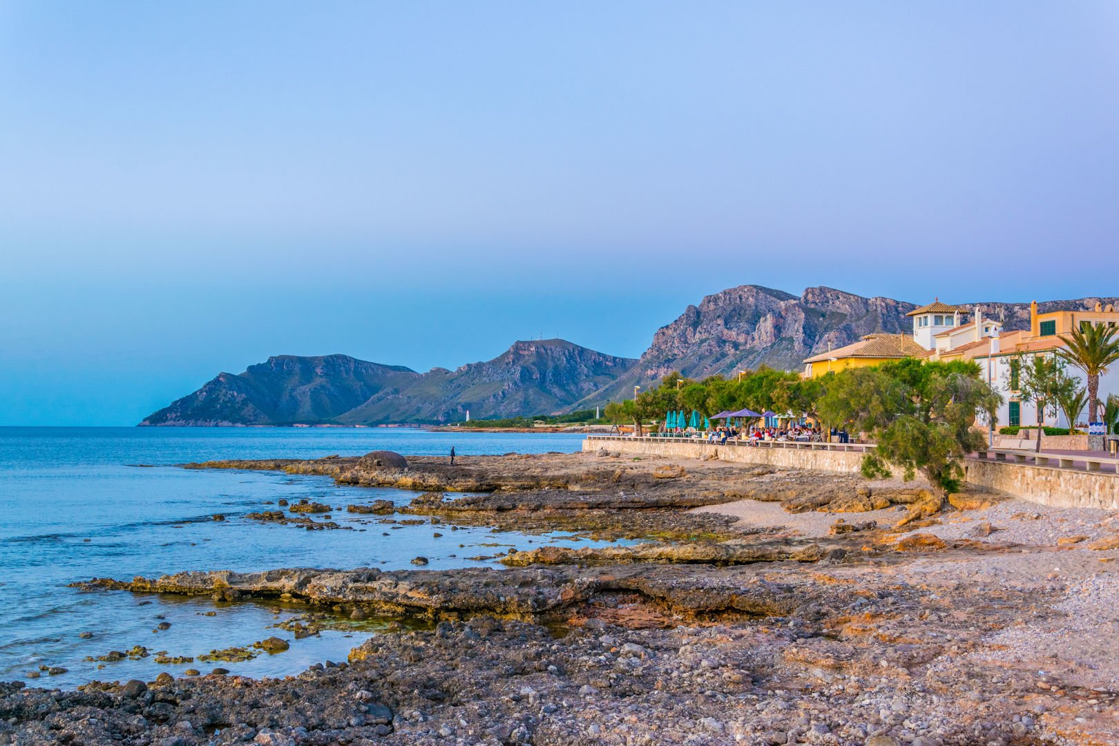 Break on the beach during hidden corners of Mallorca excursion